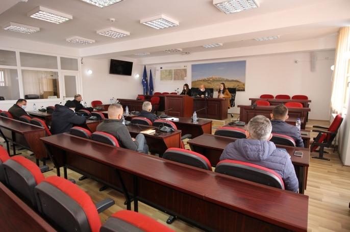 Shtabit të Situatave Emergjente të Komunës së Novobërdës