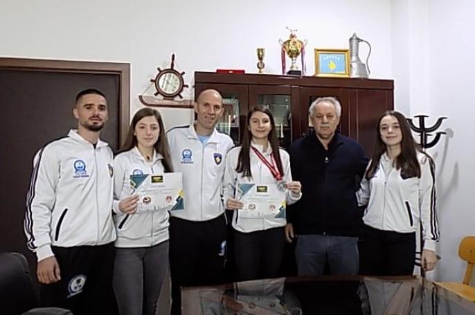 Berisha përgëzon karateistet për rezultatet e arritura në arenën ndërkombëtare