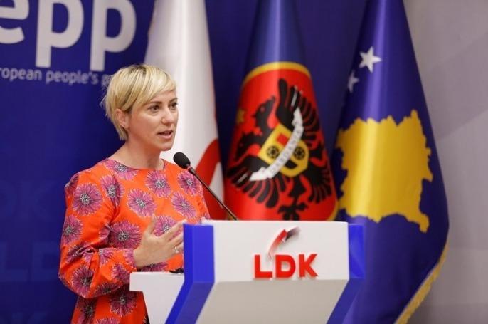 Sibel Halimi, kandidate e LDK-së për Kryetare të Ferizajt