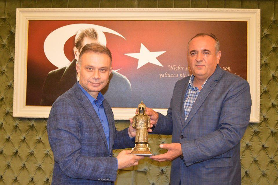 Kazan Belediye Başkanı Sayın Lokman Ertürk Gönüllerin Adamı...